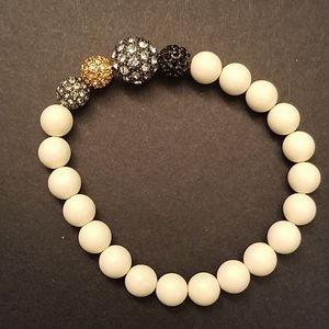 Stella & Dot Sparkling stretch bracelet - EUC